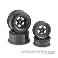 "Startec - Slash | Bandit, Street Eliminator front 2.2"" and rear 2.2 x 3.0"" wheel set - (black)"