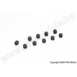 Set Screw, M3X8, Steel (10pcs)