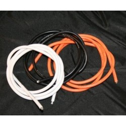 Ultra Flexi 12AWG Orange Wires ( 2 Metres)